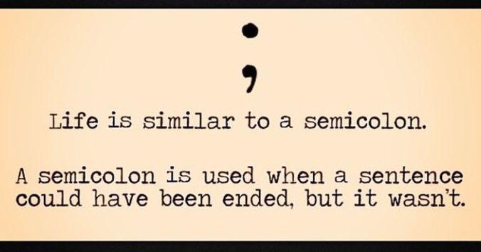 suicide semicolon